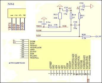 串口鼠标接线原理图
